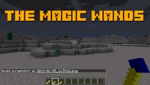 the magic wands - магические палочки [1.12.2]