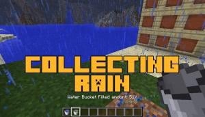 Collecting Rain - собираем воду в ведро [1.12.2] [1.11.2] [1.10.2]