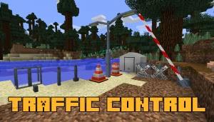 Traffic Control - предметы для декора дорог и улиц [1.12.2]