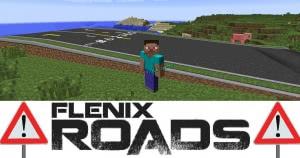 FlenixRoads (Fureniku's) - плавные и реалистичные дороги [1.12.2] [1.7.10]