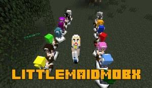 littleMaidMobX - японские помощницы [1.12.2] [1.8.9] [1.7.10]