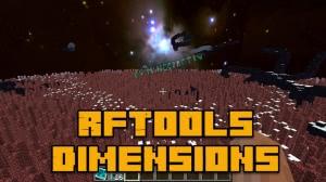 RFTools Dimensions - создаем измерения [1.12.2] [1.11.2] [1.10.2] [1.8.9]