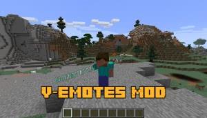 V-Emotes Mod - анимированные эмоции [1.12.2] [1.11.2] [1.10.2]