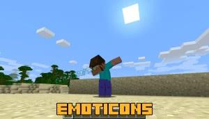 Emoticons - новые анимации действий и новые эмоции [1.12.2] [1.8.9]