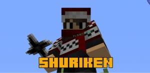Shuriken mod - сюрикен и кунаи, оружие ниндзя [1.12.2] [1.7.10]