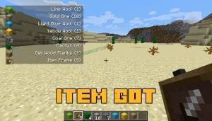 Item Got - список подобранных предметов [1.15.2] [1.14.4] [1.12.2]