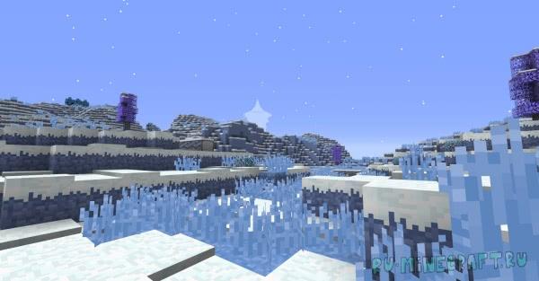 Blue Skies - два новых измерения [1.14.4] [1.12.2]