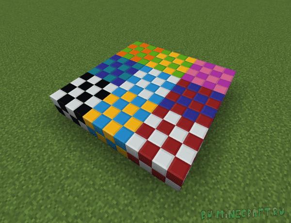 Blockus - много новых декоративных блоков [1.16.4] [1.15.2] [1.14.4]