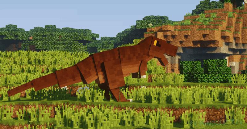 Fossils and Archeology Revival Mod - динозавры, археология [1.12.2] [1.7.10]
