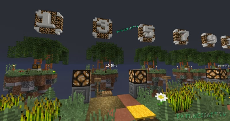 SkyBlock Infinity - скайблок с 100 заданиями [1.13.2]