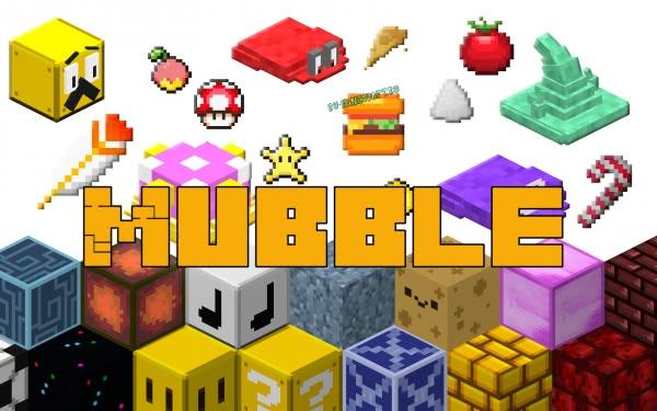Mubble - блоки и предметы из игр [1.16.4] [1.15.2] [1.14.4] [1.13.2] [1.12.2]
