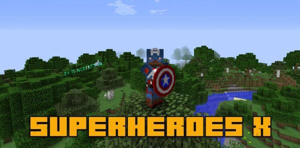 Superheroes X - руды и броня супергероев [1.13.2] [1.12.2]