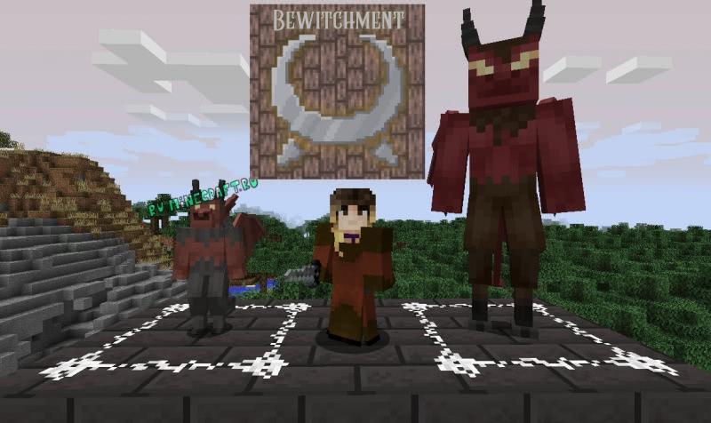 Bewitchment - крупный магический и колдовской мод [1.12.2]