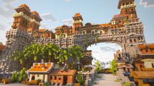 The City of Corona - вымышленная небольшая деревня [1.14] [1.13.2] [1.12.2]