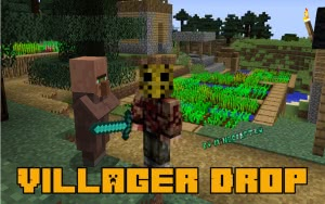 Villager Drop - дроп с деревенских жителей [1.12.2] [1.7.10]