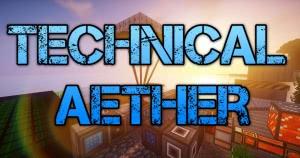 Techical Aether - РПГ-индустриальная сборка с квестами [Client] [1.12.2]