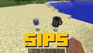 Sips - кружки для жидкостей [1.16.5] [1.12.2]