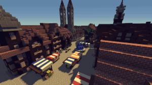 Medieval city - тесный средневековый город [1.13.2]