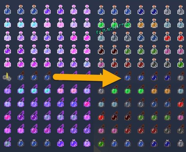 NoMoreGlowingPots - зелья не светятся [1.12.2] [1.11.2] [1.10.2] [1.8.9]