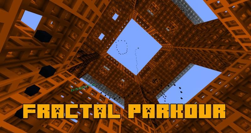 Fractal Parkour - паркур карта из фракталов [1.13.2]