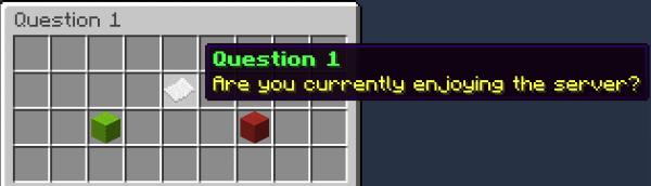 Surveys - голосования среди игроков на сервере [1.12]