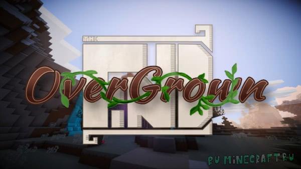 """The Find Overgrown - """"грязный"""", но красивый ресурспак [1.15] [1.14.4] [1.13.2] [16x]"""