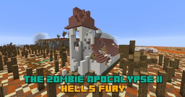 The Zombie Apocalypse II: Hell's Fury - выживание после апокалипсиса [1.12.2]