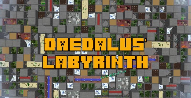 Daedalus' Labyrinth - лабиринт из комнат [1.12.2] [1.10.2]