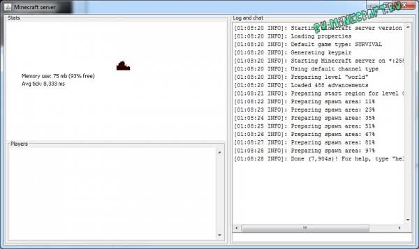 Как создать простой сервер Майнкрафт [1.14.4] [1.13.2] [1.12.2] [1.11.2-1.7.10]