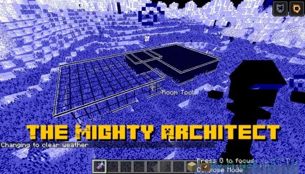 The Mighty Architect - быстро строим здания [1.15.2] [1.14.4] [1.12.2]
