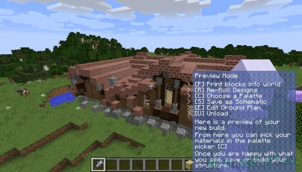 The Mighty Architect - быстро строим здания [1.16.5] [1.15.2] [1.14.4] [1.12.2]