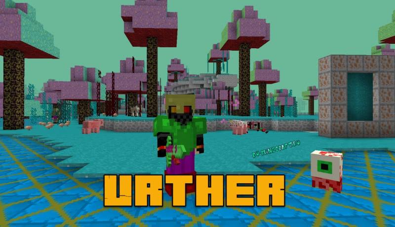 Urther - мобы, измерения, вещи [1.12.2]