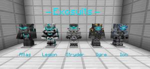 EXO-Craft - мощная броня будущего [1.12.2]