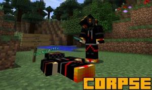 Corpse - мертвый игрок с вещами [1.16.1] [1.15.2] [1.14.4] [1.13.2] [1.12.2]