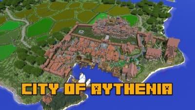 City of Aythenia - средневековый город [1.13.2]