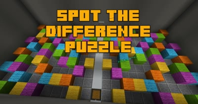 Spot The Difference Puzzle - карта на поиск разницы [1.13.2]