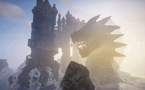 Avarderon Castle - крепость и монстр [1.13.2]