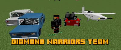 Diamond Warriors Team IV Content Pack [1.12.2] [1.11.2] [1.10.2]