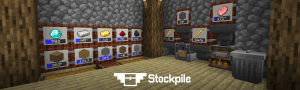 Stockpile - бочки для хранения предметов [1.16.1] [1.15.2] [1.14.4]