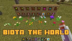 Biota, the world - новые цветы и ресурсы [1.12.2]