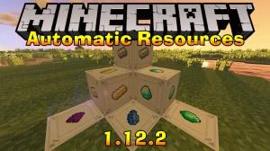 Automatic Resources - лучшая АФК ферма ресурсов [1.12.2]