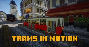 Trams in Motion - аддон на трамваи [1.7.10]