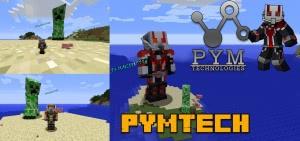 PymTech - супергерой человек-муравей и оса [1.15.2] [1.14.4] [1.12.2]