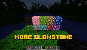 More Glowstone - больше цветов светящихся блоков [1.13.2]