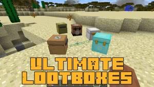 Ultimate Lootboxes - ультимативные лутбоксы [1.12.2]