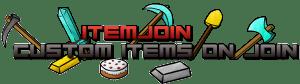 ItemJoin - выдать игрокам предметы при подключении [1.13-1.7]