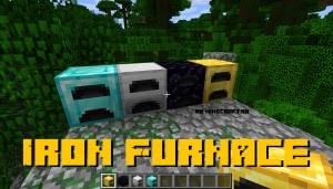 Iron Furnace - улучшенные печи [1.13.2]