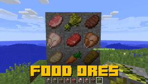 Food Ores - руды с едой [1.12.2]
