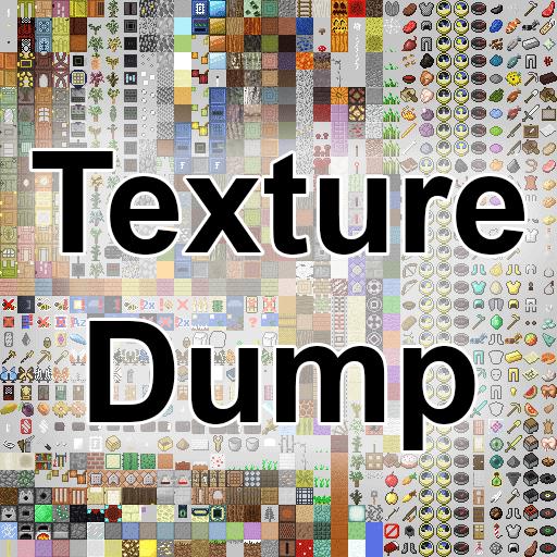 Texture Dump - поиск тяжелых текстур, оптимизация [1.16.5] [1.13.2] [1.12.2] [1.11.2] [1.10.2]