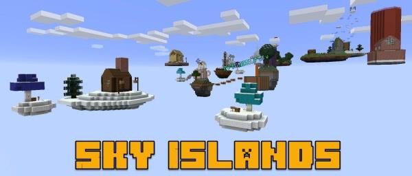 Sky Islands - скайблок 23 острова [1.13.2]